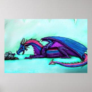 Dragon mother print