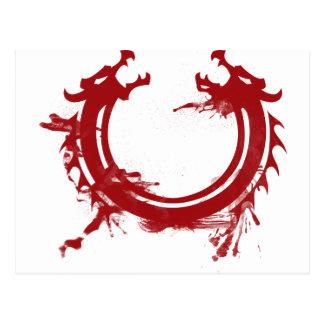 Dragon Motive Postcard