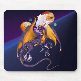 Dragón Mousepad de la lavanda Tapetes De Ratones