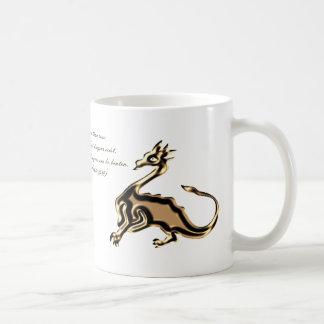 Dragon Classic White Coffee Mug