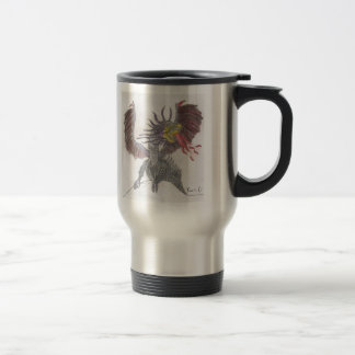 Dragon 15 Oz Stainless Steel Travel Mug