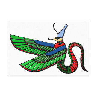 Dragon - mythical creature of ancient Egypt Canvas Print