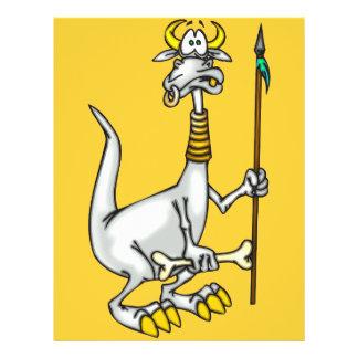 """Dragón nativo folleto 8.5"""" x 11"""""""