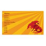 Dragón - negocio plantilla de tarjeta de visita