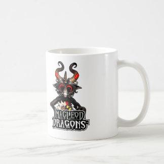 Dragón negro 11oz del MD. Taza