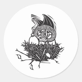 Dragon Nest Classic Round Sticker