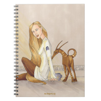 Dragon-Nibbled Notebook
