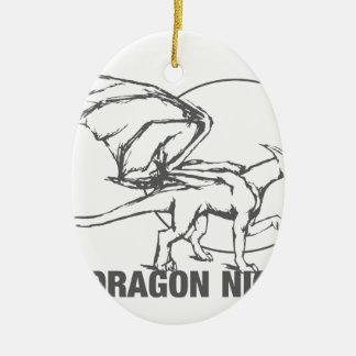 Dragon Night - Design Ceramic Ornament