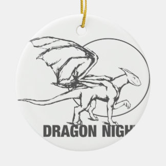 Dragon Night - Design Ceramic Ornament