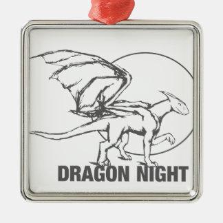 Dragon Night - Design Metal Ornament