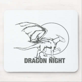 Dragon Night - Design Mouse Pad
