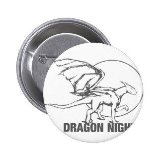 Dragon Night - Design Pinback Button