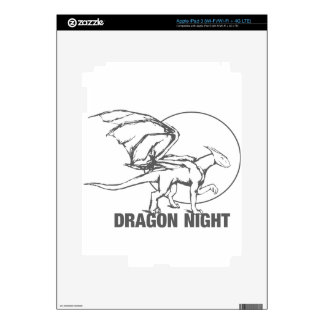 Dragon Night - Design Skin For iPad 3
