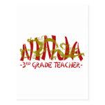 Dragon Ninja - 3rd Grade Post Card
