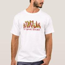 Dragon Ninja - 4th Grade T-Shirt