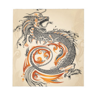 Dragon Notebook Notepad