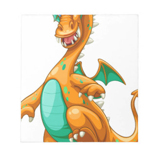 Dragon Memo Note Pad