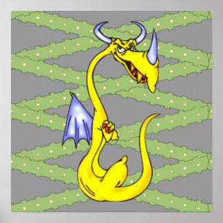 Dragón obstinado póster