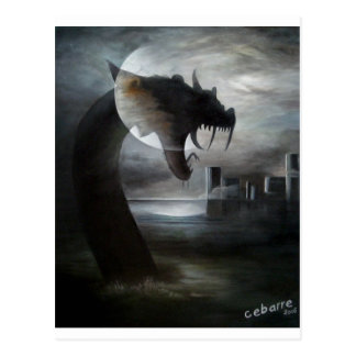 Dragon of September by Cebarre Postcard