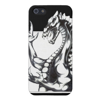 Dragon of the Dark iPhone SE/5/5s Cover