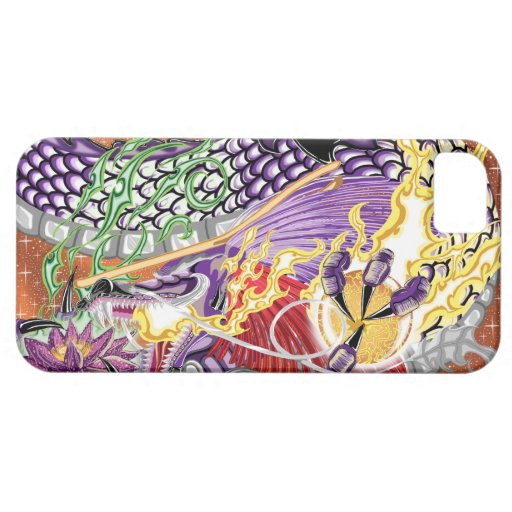 Dragon Of The Lotus iPhone5/5S Cases iPhone 5 Cases