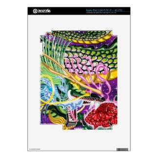 Dragon Of The Rose iPad Skin