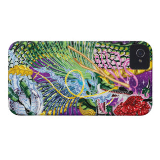 Dragon Of The Rose iPhone4/4S Cases