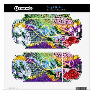 Dragon Of The Rose PSP Slim Skins
