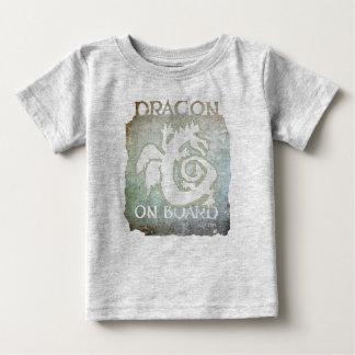 DRAGON ON BOARD! baby tee #9