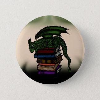 Dragon on Books Button