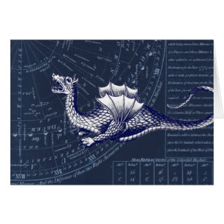 Dragon on Bue Gobal Chart Card