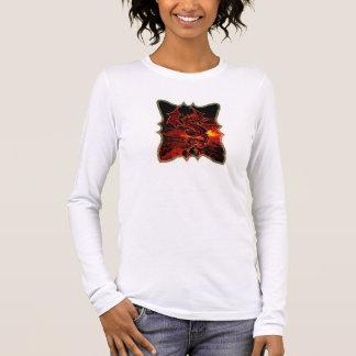Dragon on Fire Long Sleeve T-Shirt