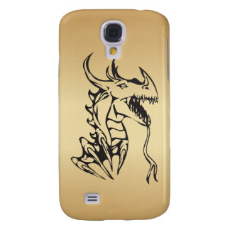 Dragon on Gold Galaxy S4 Cover