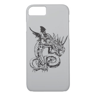 Dragon on Silver iPhone 7 Case
