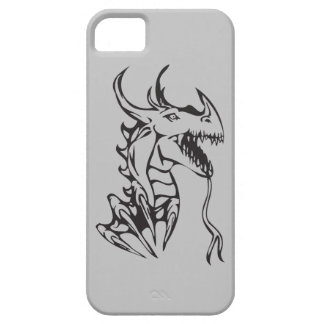 Dragon on Silver iPhone SE/5/5s Case