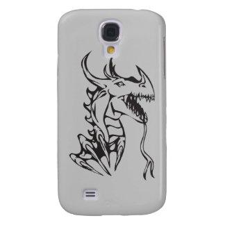 Dragon on Silver Samsung S4 Case