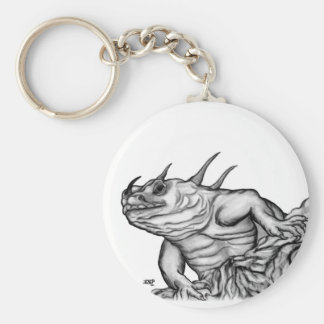 Dragon on the Rock Keychains