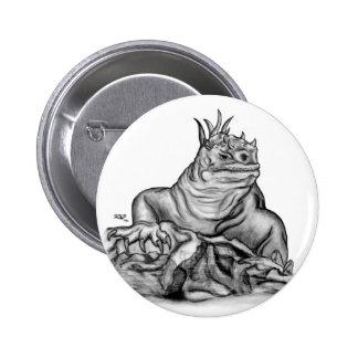 Dragon on the Rock Pinback Button