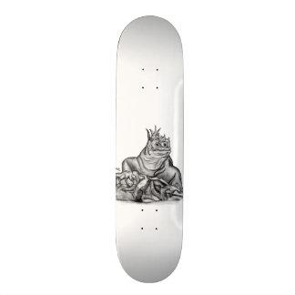 Dragon on the Rock Skateboard Deck