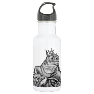 Dragon on the Rock Stainless Steel Water Bottle