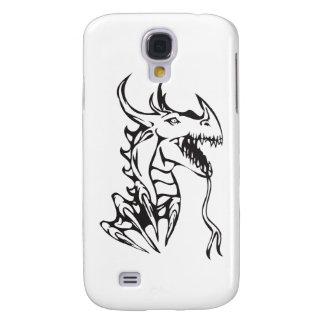 Dragon on White Samsung S4 Case