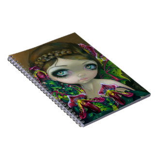"""Dragon Orchid"" Notebook"