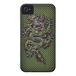 Dragón oriental #1B Case-Mate iPhone 4 Cárcasas