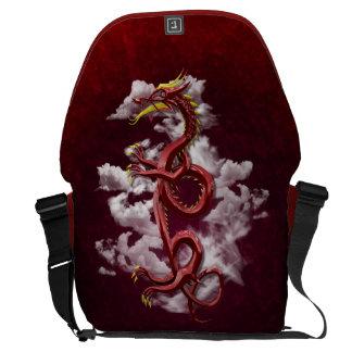 Dragón oriental bolsa de mensajería