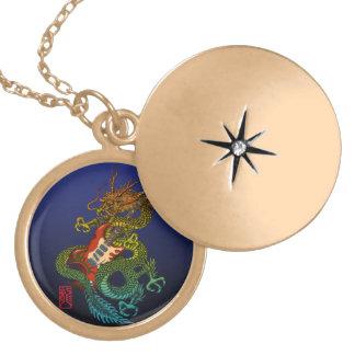 Dragon original 01 locket necklace