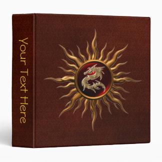 "Dragón ornamental de Sun Carpeta 1 1/2"""