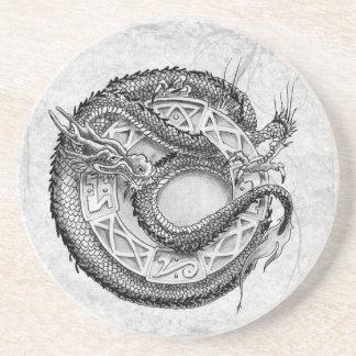 Dragon Ornamental Drink Coaster