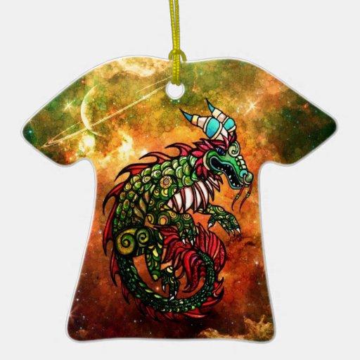 Dragón Ornaments Para Arbol De Navidad