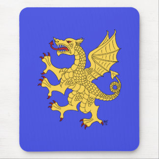Dragón oro Mousepad desenfrenado Alfombrillas De Ratón