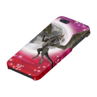 Dragón oscuro iPhone 5 fundas